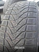 Зимние шины Б/У 195/60/15 Firestone WinterHavk протектор 5мм