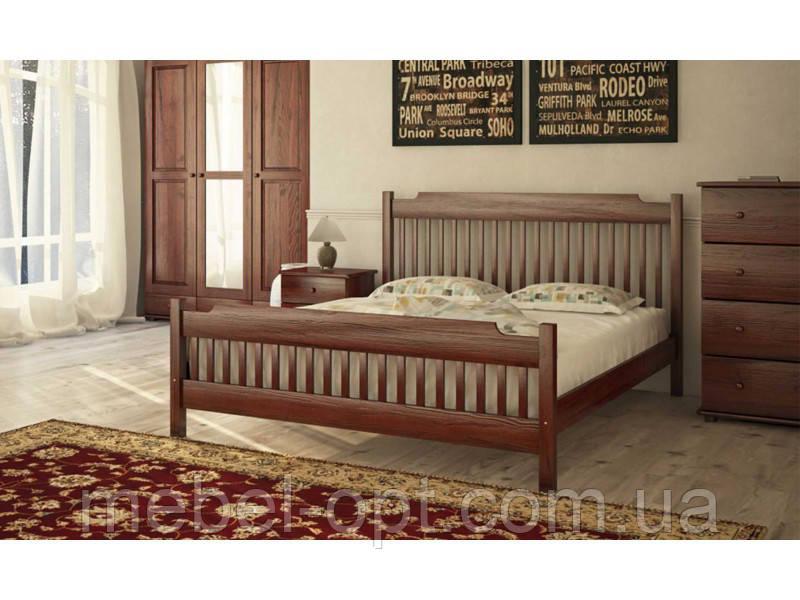Деревянная кровать Л-212 120х190 см Скиф
