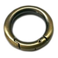Кольцо-карабин антик