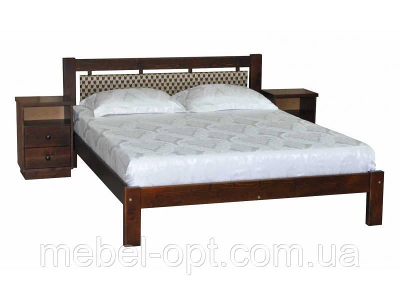 Деревянная кровать Л-229 120х190 см Скиф