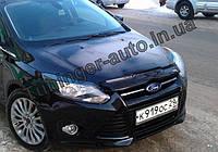 Мухобойка, дефлектор капота Ford Focus 3 2011-2014 (EGR)