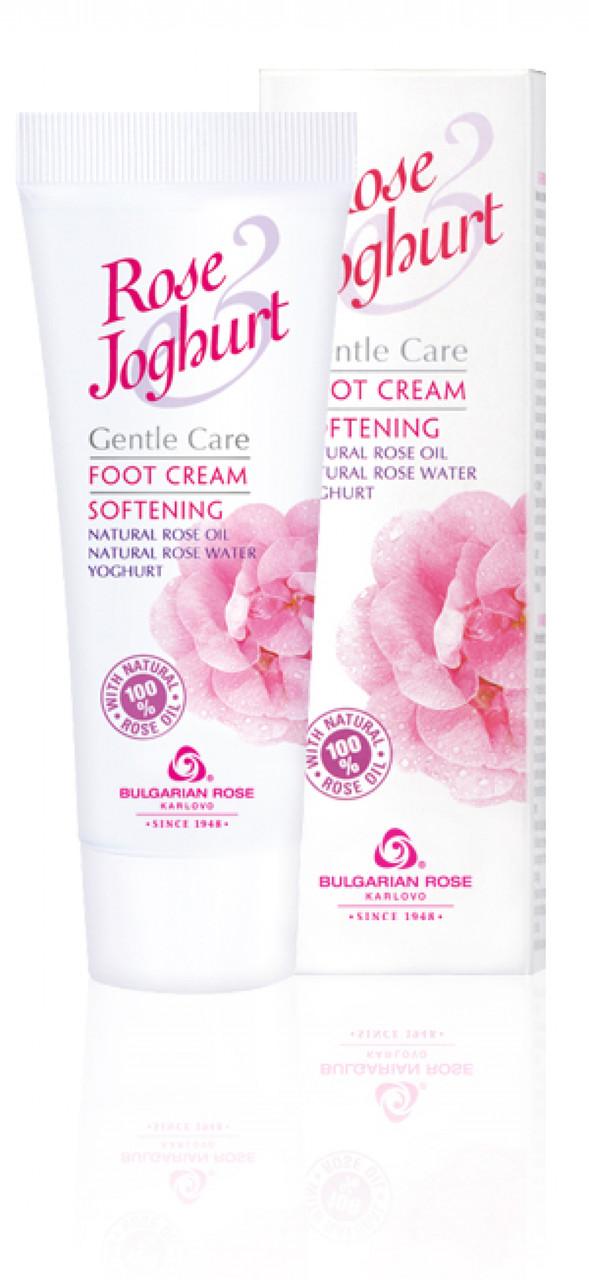 Крем для ног смягчающий Болгарская Роза Rose Joghurt 75 мл