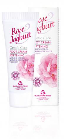 Крем для ног смягчающий Болгарская Роза Rose Joghurt 75 мл, фото 2
