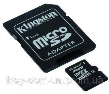 Карта памяти Kingston microSDHC 32 ГБ (SDC4/32GB)