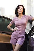 Женский костюм: шорты и футболка, в расцветках. ЕД-17-0518, фото 1