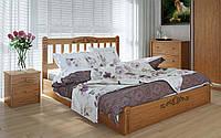 Деревянная кровать Луизиана люкс с механизмом 140х190 см Meblikoff