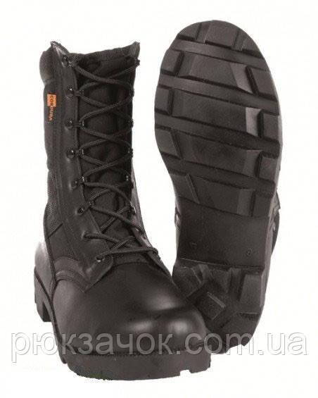 Ботинки Mil-tec Panama jangle Cordura black р.40-47