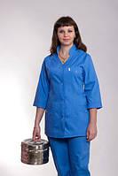 Синий медицинский костюм високого качества