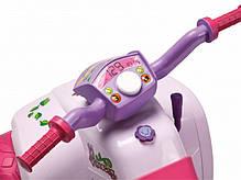 Детский квадроцикл Peg Perego Quad Princess 6V для девочек, фото 2