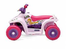 Детский квадроцикл Peg Perego Quad Princess 6V для девочек, фото 3