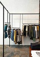Изготовление торговой мебели на заказ для магазина одежды, бутика, шоу-рума, салона