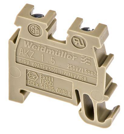 Клемма с винтовыми зажимами Weidmuller AKZ 1.5 - 340460000