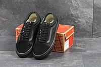 Мужские кеды Vans Old School (черные), ТОП-реплика, фото 1