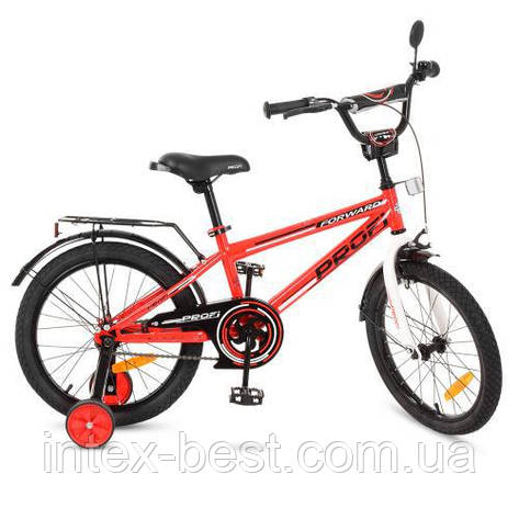 """Двухколесный велосипед Profi Forward 18"""" Красный (T1875), фото 2"""