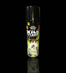 Дихлофос универсальный Kill Time, Кил тайм, 400 мл, без запаха(ДихСпрей_киллТайм400)
