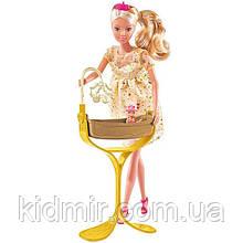 Кукла Штеффи беременная из серии Королевский набор, 29 см Steffi Simba 5737084