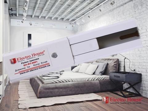 Шинопровод для трековых светильников 1 метр белый Electro House