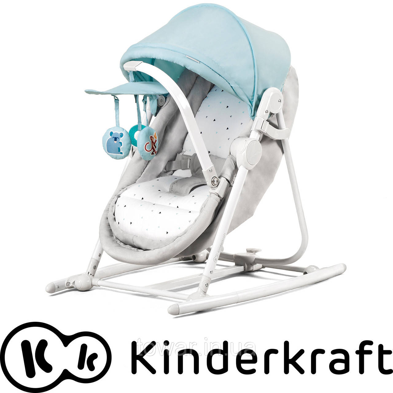 Кресло-качалка 5 в 1 UNIMO KinderКraft