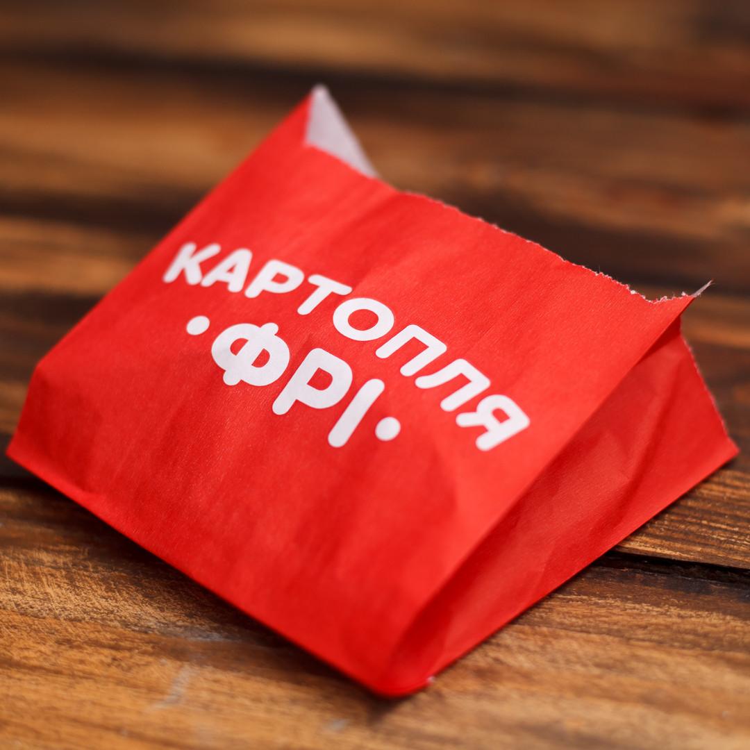 Упаковка для картофеля фри средняя 300Ф