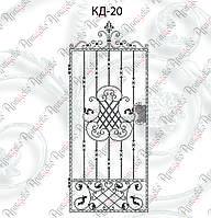 Калитка кованая. Комплект элементов 1000х2000
