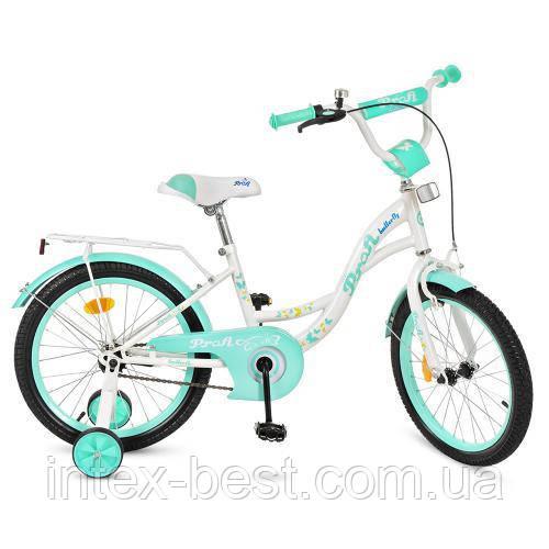 """Двухколесный велосипед Profi Butterfly 18"""" (Y1824)"""