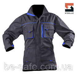 Куртка рабочая SteelUZ с синей отделкой