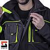 Куртка рабочая защитная SteelUZ с салатовой отделкой, фото 5