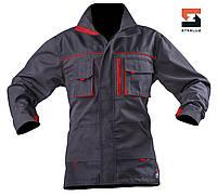 Куртка рабочая SteelUZ с красной отделкой, фото 1