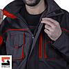 Куртка рабочая SteelUZ с красной отделкой, фото 8