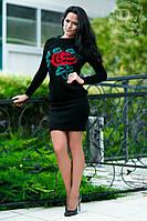 """Стильный утепленный молодежный костюм """" Роза """" Dress Code, фото 1"""