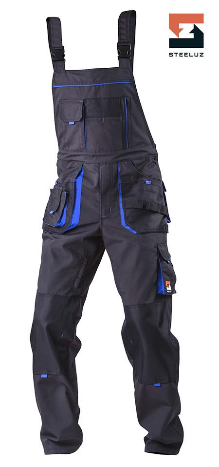 Полукомбинезон рабочий SteelUZ с синей отделкой