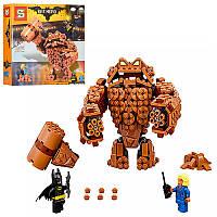 """Конструктор Бэтмен """"ВATLEADER"""" Атака Глиноликого Аналог Lego Batman movie  робот, фигурки, 469 деталей, SY870"""