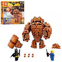 """Конструктор Бэтмен """"ВATLEADER""""Атака Глиноликого Аналог Lego Batman movie робот, фигурки, 469 деталей, SY870"""