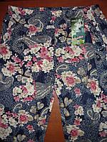 Капри женские с карманами. Супер батал. р. L- 3XL. Бамбук , фото 1