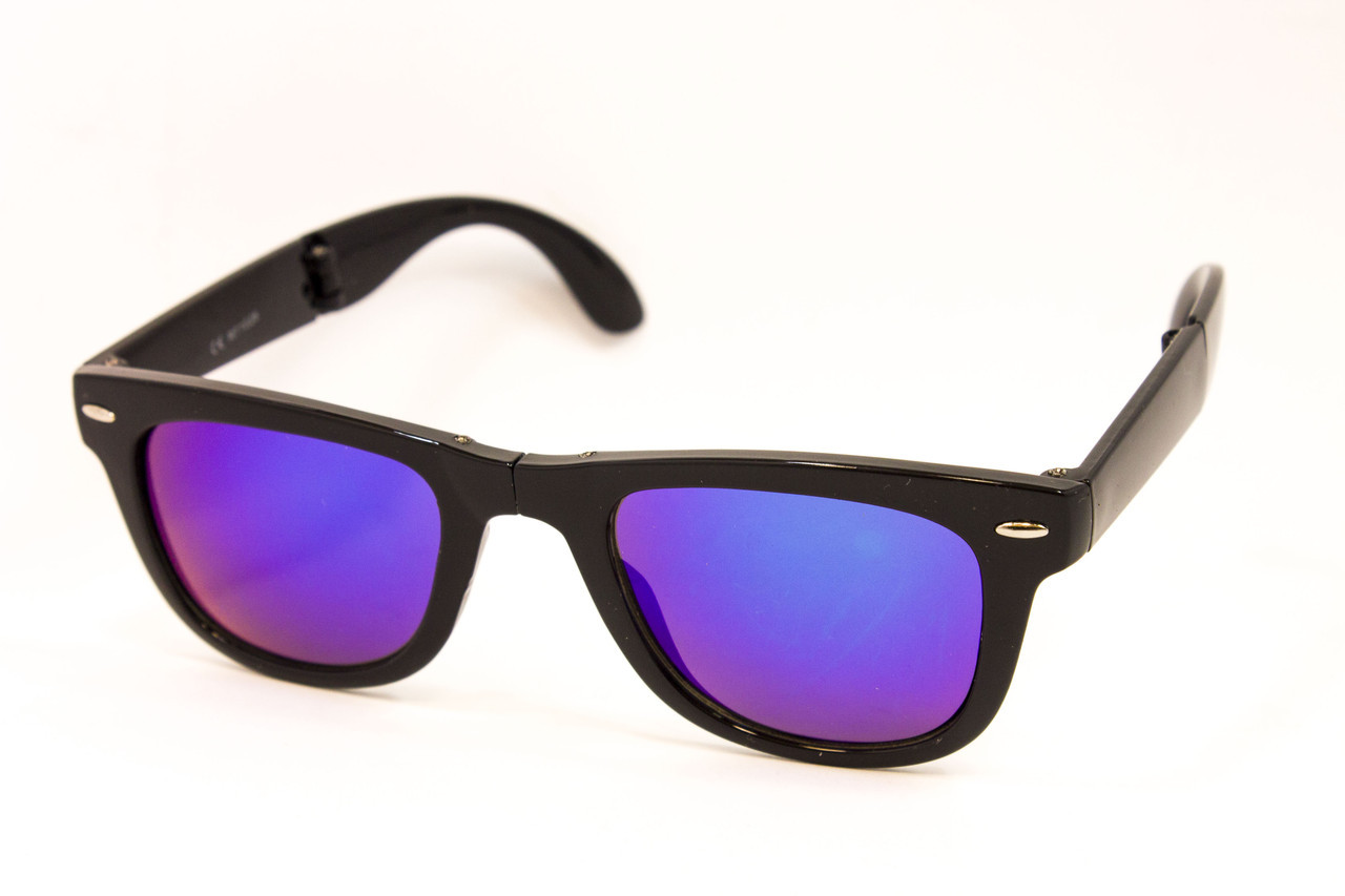 Складные зеркальные очки Wayfarer 911-73