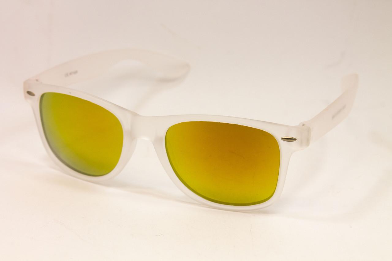 Солнцезащитные очки wayfarer зеркальные (1028-58)