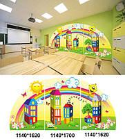 Оформлення класної кімнати початкових класів Декорація