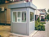 Сторожка, будка охраны, пост охраны построить, готовый пост охраны цена