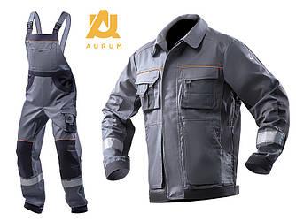 Костюм робочий AURUM куртка та напівкомбінезон з бавовни