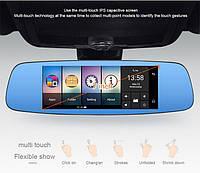Зеркало регистратор Junsun A800 7 экран, GPS навигатор, 4 G интернет, Car Assistent