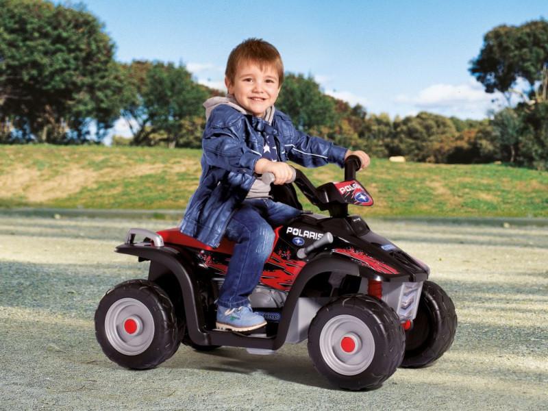 Детский квадроцикл Peg Perego Polaris Sportsman 400, мотор 6V