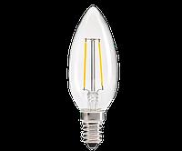 Светодиодная  лампа Ledex  filament С37-2W-E14-190lm-4000K-(LX-102078)