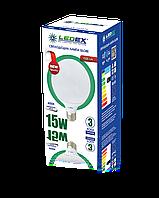 Cветодиодная лампа  Ledex  G95-15W-E27-1500lm-4000K-(LX-101575)