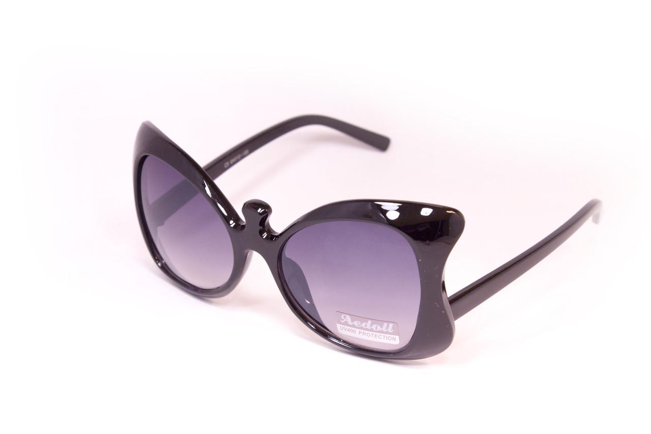 Яркие очки распродажа черные (9681-8)