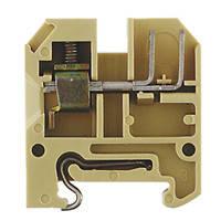 Клемма с винтовыми зажимами Weidmuller AKZ 4 WEMID BL - 1038680000