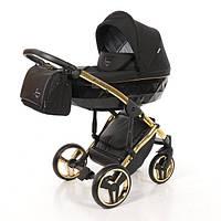 """Универсальная детская  коляска 2 в 1 Junama  DIAMOND S-line """"Gold"""