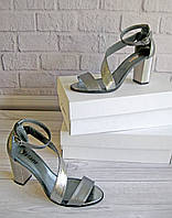 Жіночі босоніжки на підборах. Взуття Vistani., фото 1