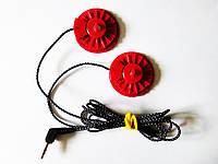 Комплект красных динамиков с проводом Koss Porta Pro