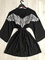 Халат-кімоно Angel , домашня жіночий одяг., фото 1