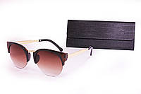 Солнцезащитные женские очки с футляром F8128-1, фото 1